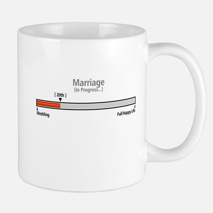 Progress Bar Marriage 20 - Mugs