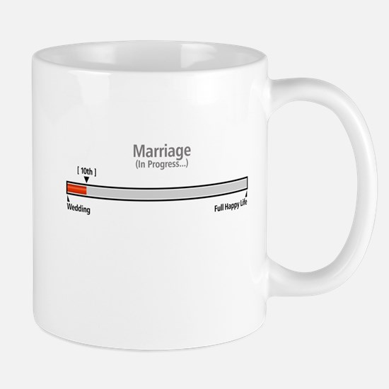 Progress Bar Marriage 10 - Mugs