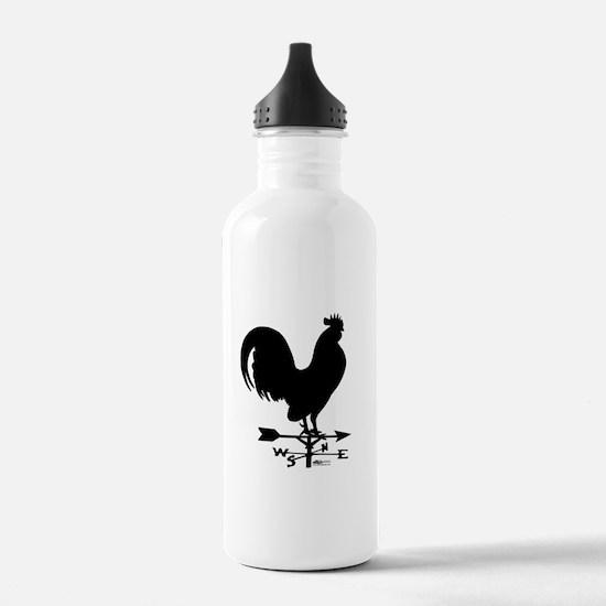 Rooster Weathervane Water Bottle