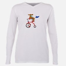 Dachshund On Bike T-Shirt