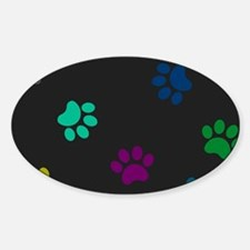 Paw prints Decal