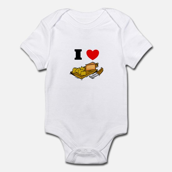 Cheese and Crackers  Infant Bodysuit