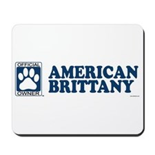 AMERICAN BRITTANY Mousepad