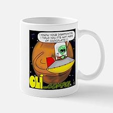 Funny Planet comics Mug