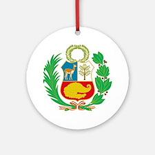 Cute Nacional Round Ornament