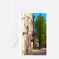 My Sunny Day In Estonia Greeting Cards
