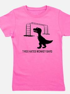T-Rex Hates Monkey Bars T-Shirt