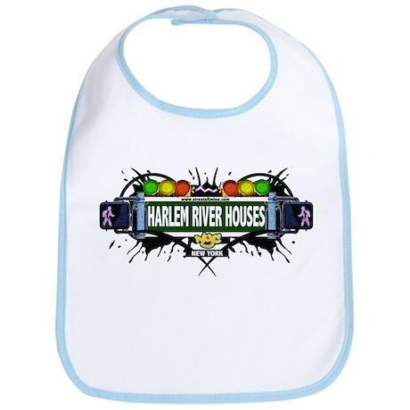 Harlem River Houses (White) Bib