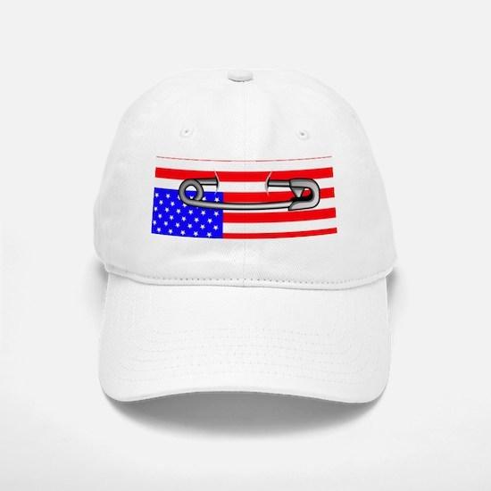 NOT MY PRESIDENT Baseball Baseball Cap