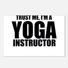 Trust Me, I'm A Yoga Instructor Postcards (Pac