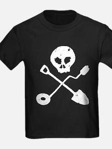 Detectorist Skull - Sondengän T-Shirt