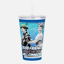 I Love Lucy: Good Frie Acrylic Double-wall Tumbler