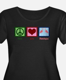 Peace Love Fl Plus Size T-Shirt
