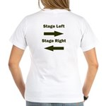 Stage Left and Right Women's V-Neck T-Shirt