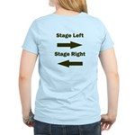 Stage Left and Right Women's Light T-Shirt