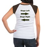 Stage Left and Right Women's Cap Sleeve T-Shirt
