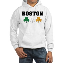 Boston Irish Shamrocks Hoodie