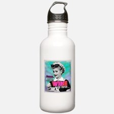 I Love Lucy: Wine Water Bottle