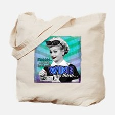 I Love Lucy: Wine Tote Bag