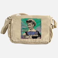 I Love Lucy: Wine Messenger Bag