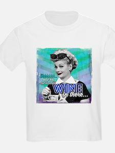 I Love Lucy: Wine T-Shirt