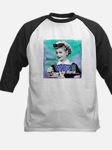 I Love Lucy: Wine Kids Baseball Jersey