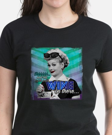 I Love Lucy: Wine Women's Dark T-Shirt
