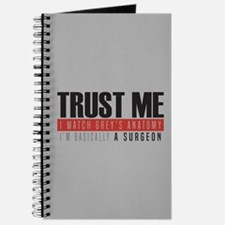 Grey's Trust Me Journal