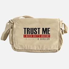 Grey's Trust Me Messenger Bag