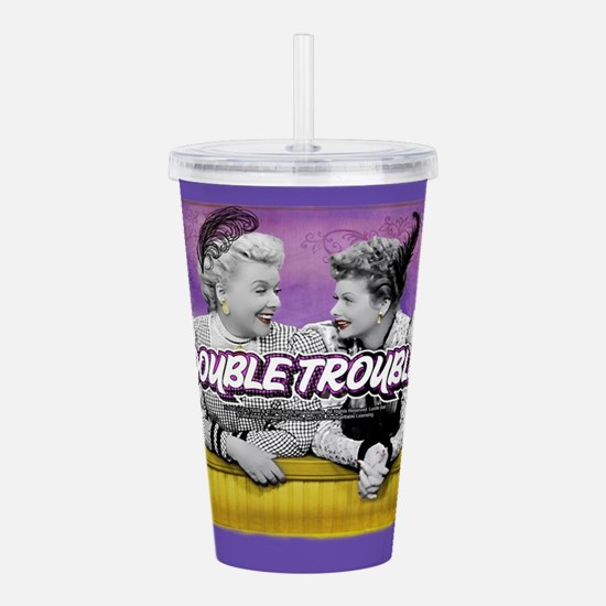 I Love Lucy: Double Tr Acrylic Double-wall Tumbler