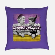 I Love Lucy: Double Trouble Everyday Pillow
