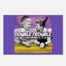 I Love Lucy: Double Troub Postcards (Package of 8)