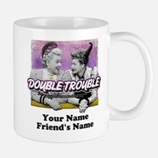 Double Trouble Personalized Small Small Mug