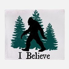 I Believe Throw Blanket