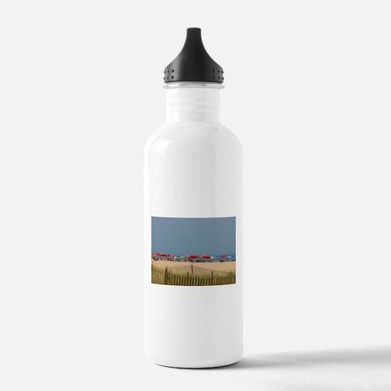 Cape May, NJ Beach Umb Water Bottle