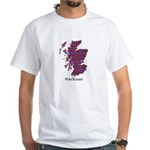 Map - Harkness White T-Shirt