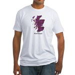 Map - Harkness Fitted T-Shirt