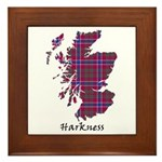 Map - Harkness Framed Tile