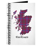 Map - Harkness Journal
