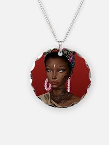 Melanin Poppin' Necklace