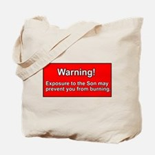 Son Burn Christian Tote Bag