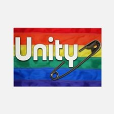 Safety Pin, Unity, Rainbow Flag, LGBTQ Magnets