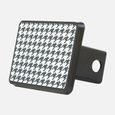 Grey, Steel: Houndstooth C Hitch Cover