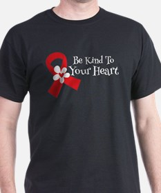 Heart Health Slogan T-Shirt