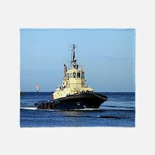 Tugboat Tingari, Australia Throw Blanket