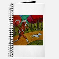 Jogging Sock Monkey Journal