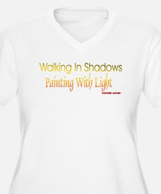 walkinginshadows Plus Size T-Shirt