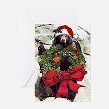 Holiday Bear Greeting Cards