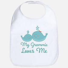 My Grammie Loves Me Baby Bib