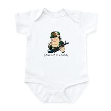 Cute Proud marine brat Infant Bodysuit